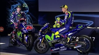 Movistar Yamaha MotoGP 2017 Official Launching Rossi Vinales