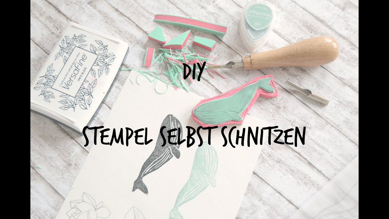 Beliebt DIY - Stempel selber machen (german/deutsch) - YouTube OT28