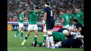 Ronan O'Gara and Keith Wood | Good start for Ireland, 4 try win, Confident performance