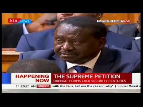 Lawyer Otiende Amolo: The results showed a curious trend throughout