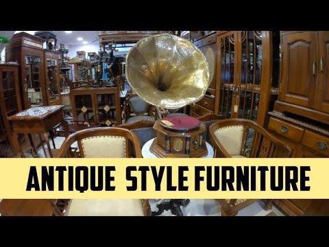 Antique furniture market in mumbai Antique furniture Old furniture old antique collection  antique