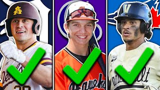 BEST PICKS of the 1st Round 2020 MLB Draft
