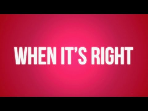 Alyson Stoner - When It's Right (Lyric Version)