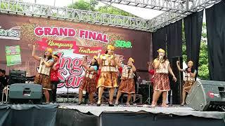 Di tinggal rabi by finalis Yel yel jingle Anget Sari dari Tegowangi Plemahan Kediri