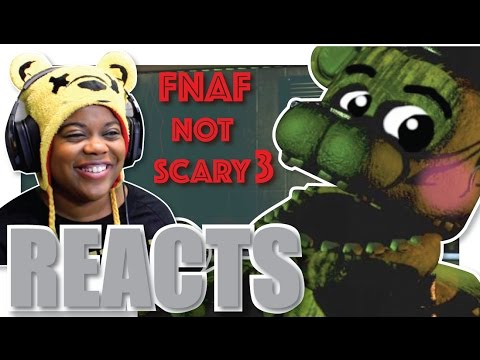 How to make fnaf not scary part 3 garrett williamson reaction aychristene reacts youtube - Fnaf 3 not scary ...