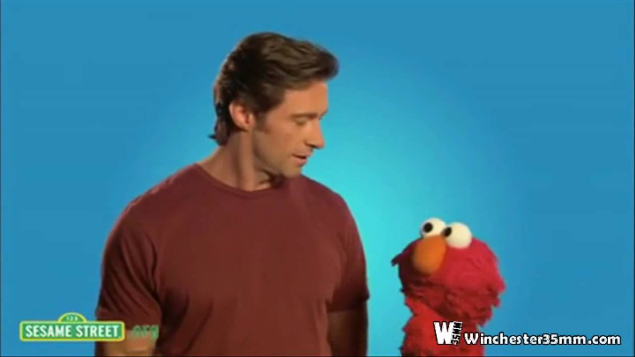 Hugh Jackman on Sesame Street 01/28/2010 57
