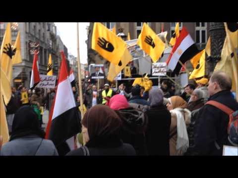 MONDO REPORTER: Manifestazione per Morsi ad Amsterdam.