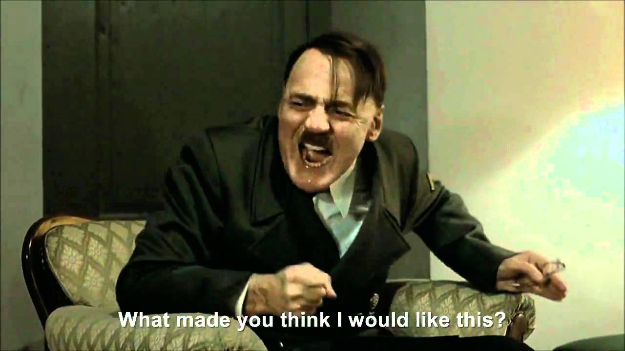Hitler rants about Rebecca Black - Friday