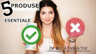 MEREU IN BUCATARIA MEA! | 5 produse esentiale unui stil de viata sanatos ???✅