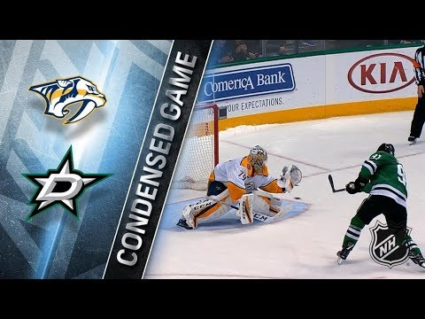 Nashville Predators vs Dallas Stars - Dec.23, 2017 | Game Highlights | NHL 2017/18. Обзор матча