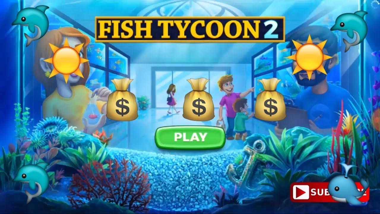 Tutorial selling 21 magic fish of nutrition in 78 sec for Fish tycoon 2