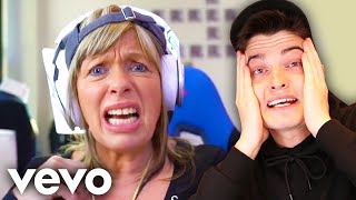 morgz mum made a diss track