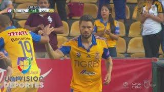 Relampagueante inicio de Tigres vs. Dorados con dos goles en dos minutos