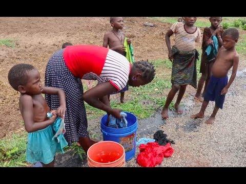 Situação triste em Koko, Macomia, Cabo Delgado