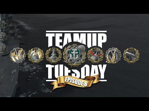 World Of Warships - Teamup Tuesday [Episode 8] - Ocean's 11