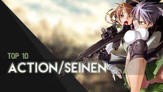 Top 10 Action/Seinen Anime