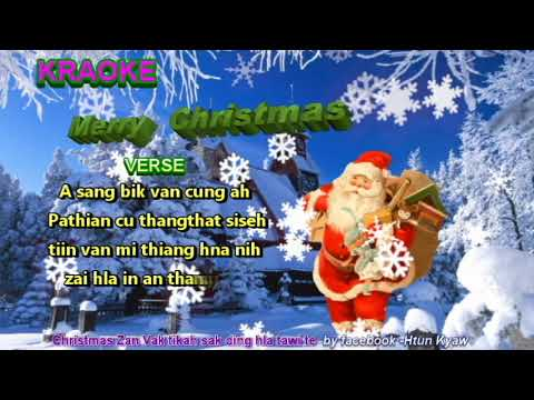Mary Christmas II karaoke Christmas hla thar 2018 by Group