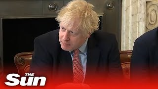Boris Johnson tells first post election cabinet to work 24/7 to deliver for voters