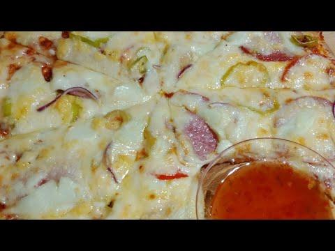 البيتزا بعجنتي السحرية والمميزة جدا ونتيجة افضل من المطاعم مع فاطمة أبو حاتي