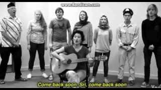 Bule nyanyi lagu bahasa Jawa - Ndang Balio Sri