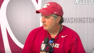 'Sports Report' Update: Washington State's Mike Leach gives wedding advice