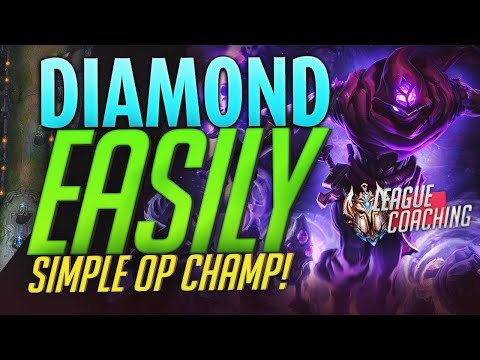This EASY Champ and Playstyle will get my student to DIAMOND! Challenger LoL Coaching