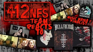 412nes Team reacts to The Hellfreaks!