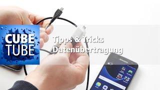 Tipps & Tricks: Daten auf ein neues Smartphone übertragen per OTG Adapter