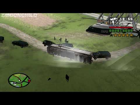 What happens if the FBI Agents run out of ammo? GTA San Andreas