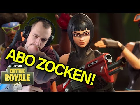 [🔴LIVE] SPONSOR & ABO ZOCKEN!  Fortnite Battle Royale Gamepl