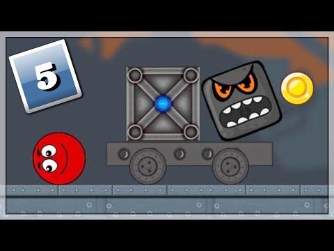 Skakanie Na Ekranie! Gry Online: Ball Hero Adventure: Red Bounce Ball #5