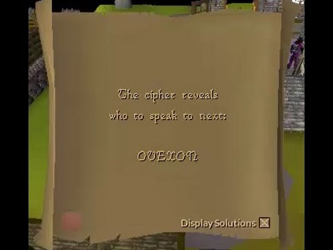 OVEXON OSRS anagram clue