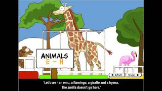 Интерактивные уроки английского   в зоопарке  Урок 4