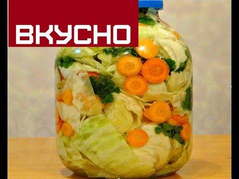 КАК  МАРИНОВАТЬ КАПУСТУ НА ЗИМУ /  HOW pickled cabbage in winter без регистрации и смс