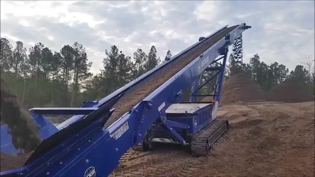 Edge Ts65 Track Stacking Conveyor Stockpiling Asphalt
