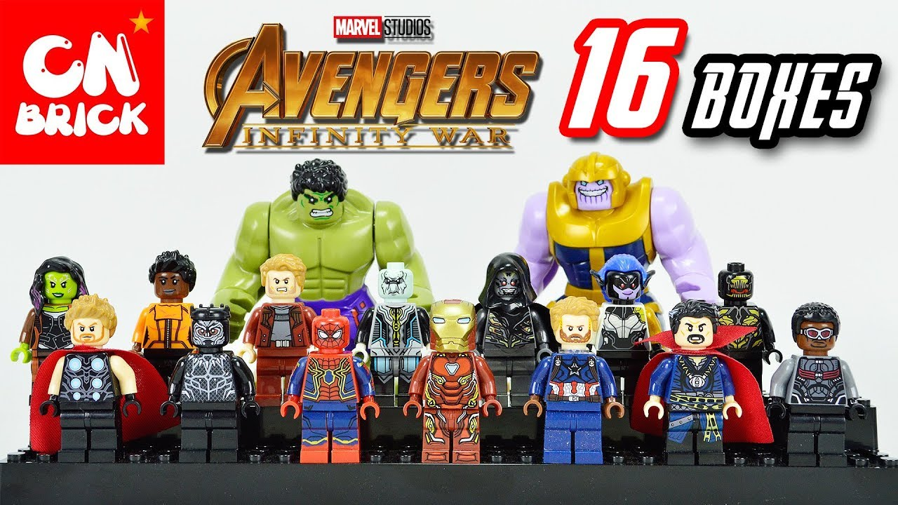 How To Get The Thanos Infinity Gauntlet Egg Roblox Egg New 16 Pc Marvel Super Heroes Avengers Infinity War Mini Figure Thanos Lego Set