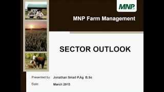 Agricultural Industry Outlook - March 2015
