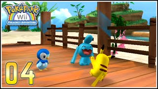 PokéPark Wii Capítulo 4 - A CONSTRUIR PUENTES BIDOOFIANOS EN LA PLAYA :D
