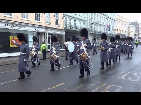 Changing the Guard at Windsor Castle - Wednesday the 25th of January, 2017