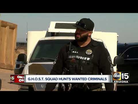 Behind the scenes with Pinal County's G.H.O.S.T Squad