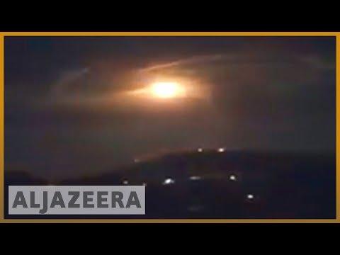 🇮🇱🇸🇾Israeli army says it hit Iranian targets in Syria | Al Jazeera English