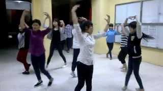 Dựng vũ đạo bài Hà Nội Những Công Trình