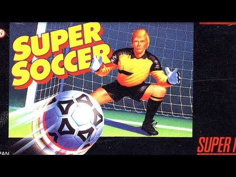 Classic Game Room  SUPER SOCCER  for Super Nintendo
