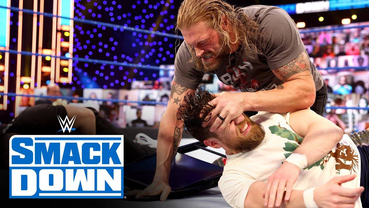 Roman Reigns, Edge and Daniel Bryan erupt over WrestleMania decision: SmackDown, March 26, 2021