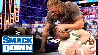 Roman Reigns, Edge and Daniel Bryan erupt over WrestleMania decision: SmackDown, March 26, 2021