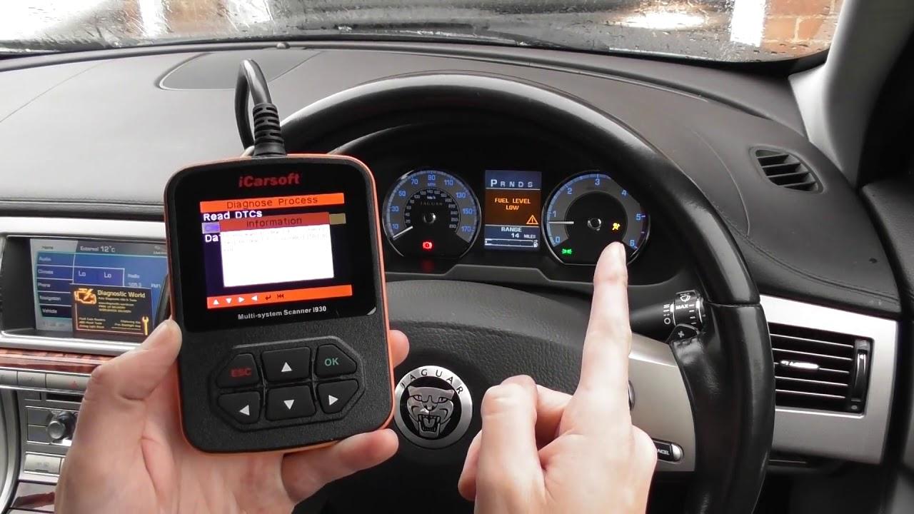 Land Rover & Jaguar iCarsoft i930 Multi System Diagnostic