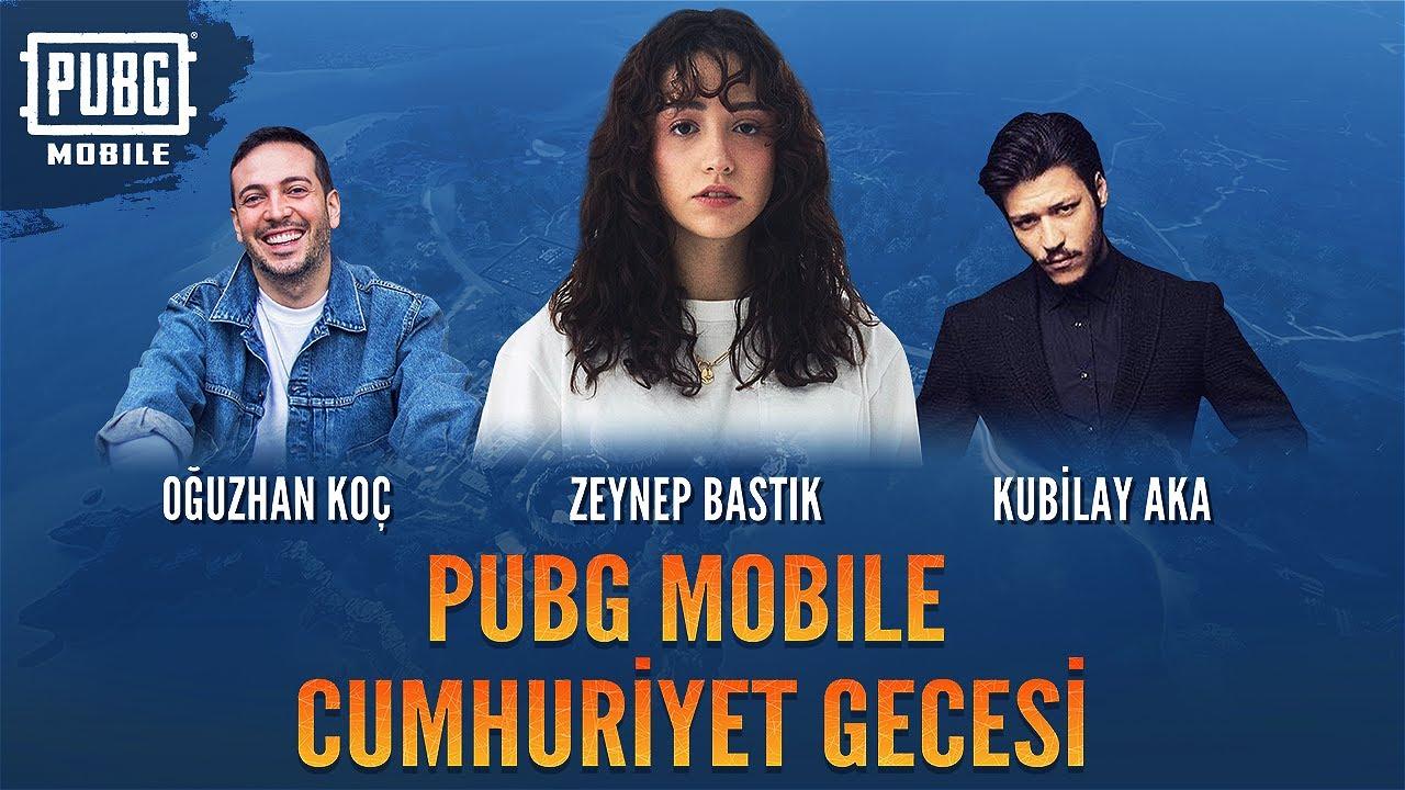 29 Ekim Cumhuriyet Bayramı Özel Yayını - w/Zeynep Bastık, Oğuzhan Koç, Kubilay Aka - PUBG Mobile