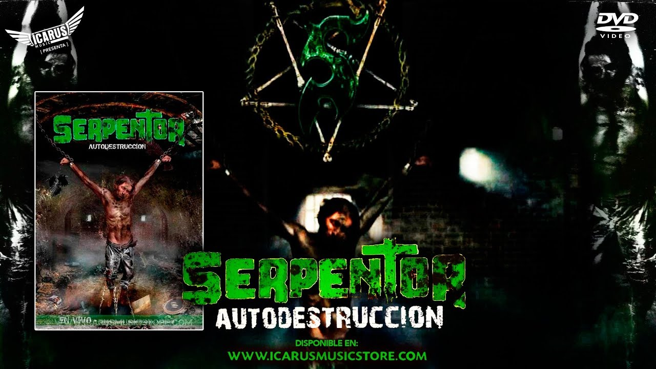 serpentor autodestruccion dvd