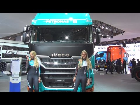 Iveco Stralis AS440S57T/P XP Emotion Dakar Race Truck (2017) Exterior and Interior in 3D