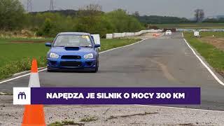 Sportowa jazda Subaru Impreza STI RA – Tor Krzywa video